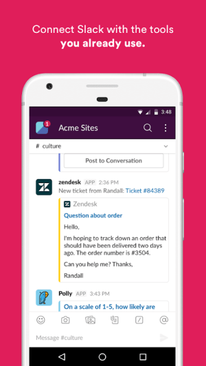 Slack 2.49.0 Screen 4