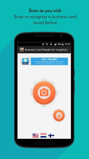 Business Card Reader for Insightly CRM 1.1.145c Screen 3