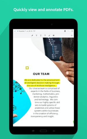 Adobe Acrobat Reader: PDF Viewer, Editor & Creator 20.4.0.13615 Screen 9