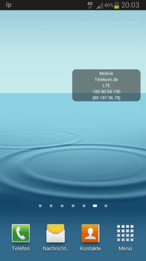 IP Widget 1.43.0 Screen 4