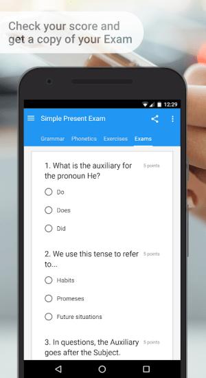 English Grammar & Phonetics 7.4.1 Screen 8