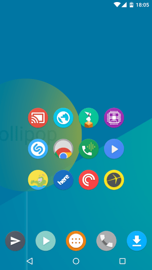 Android Kiwi UI Icon Pack Screen 5