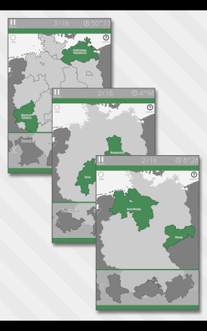 Enjoy Learning Germany Map Puzzle 3.3.1 Screen 4