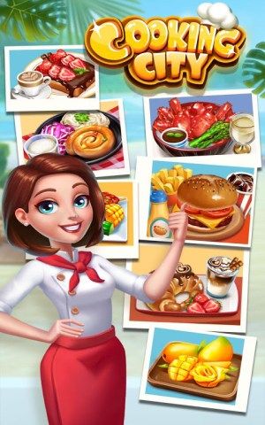 Cooking City: crazy chef' s restaurant game 1.22.3973 Screen 1