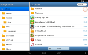 MyFiles 2.6.5 Screen 4