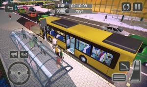 bus simulator : bus games 1.4 Screen 1
