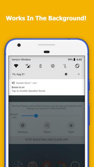 Speaker Boost - Volume Booster 3.0.7 Screen 1