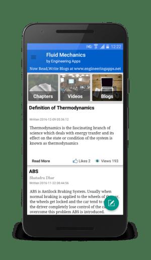 Android Fluid mechanics Screen 5