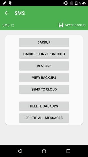 Super Backup & Restore 2.2.70 Screen 3