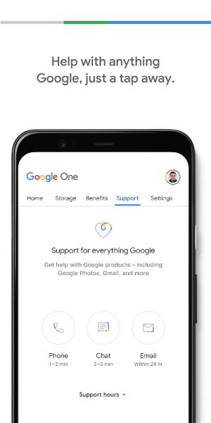 Google One 1.113.396049291 Screen 3