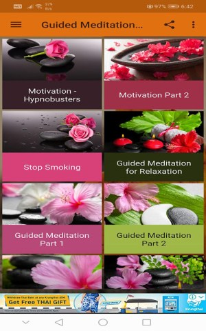 Android Guided Meditation Free App - Sleep & Relaxation Screen 5