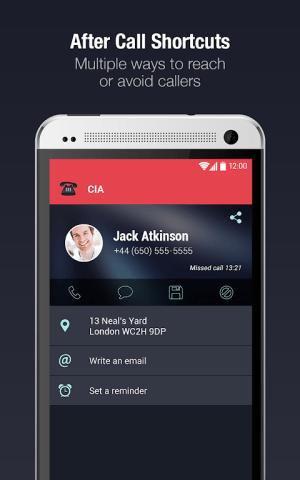 Android CIA - Caller ID & Call Blocker Screen 5