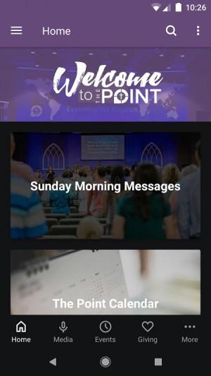 Longview Point Baptist Church 5.12.0 Screen 1