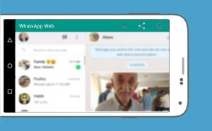 Android WhatsWeb For WhatsApp Web Screen 4