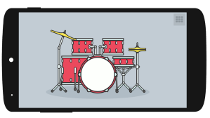 Android Drum set Screen 3