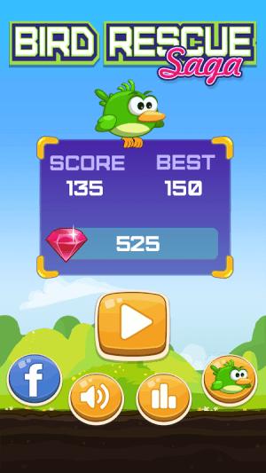Android Bird Rescue Saga Screen 2