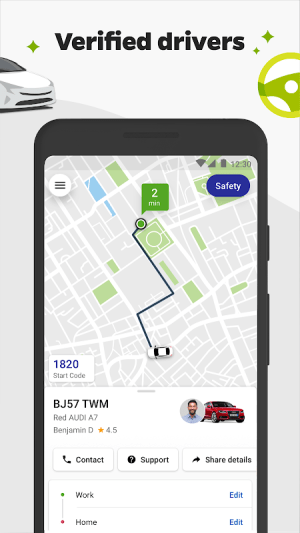 Ola - Ride the change 5.0.9 Screen 3