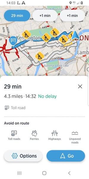 TomTom AmiGO - GPS, Speed Camera  & Traffic Alerts 7.395.0 Screen 7