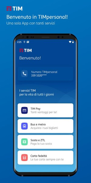 TIMpersonal 6.6.0 Screen 1