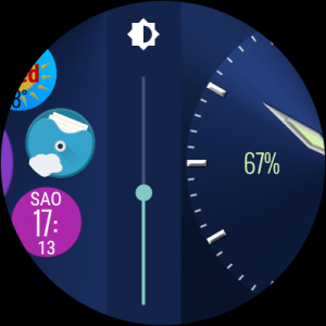 Bubble Cloud Tile Launcher Watchface (WearOS) 9.70 Screen 12