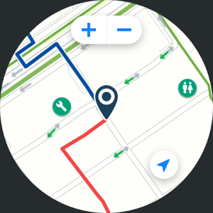 Android Bikemap - Your Cycling Map & GPS Navigation Screen 2
