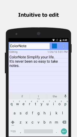 ColorNote Notepad Notes To do 4.2.5 Screen 2