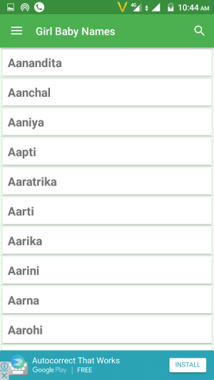 Hindu Baby Names and Meanings 11.4 Screen 1