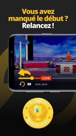 Molotov - TV en direct et en replay 3.4.7 Screen 1