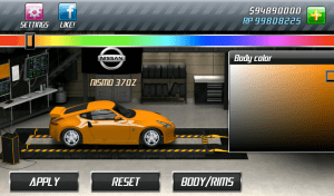 Android Drag Racing Screen 8