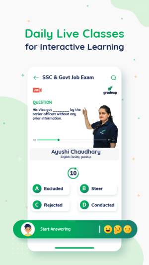 Exam Preparation App: Free Mock Test, Live Classes 9.34 Screen 5