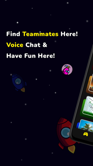 AmongChat - Voice Chat for Among Us Friends 1.11.2-210130729 Screen 4