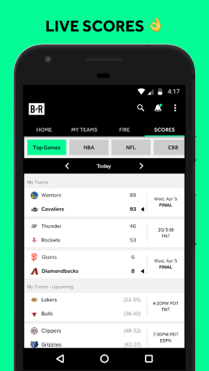 Bleacher Report 7.4.0 Screen 8