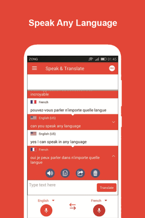Speak and Translate All Languages Voice Translator 3.4 Screen 9