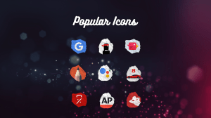 Icon Pack - Paper Shaped Original Icons 1.1.017 Screen 8