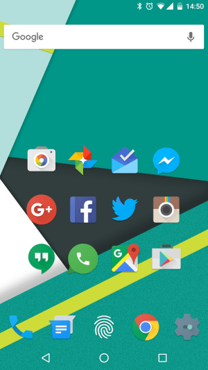 Android Nucleo UI - Free Version Screen 2