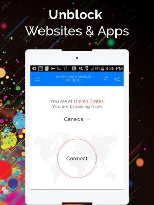 Best VPN - Free Unlimited VPN 1.7.3 Screen 3