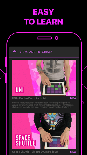 Android Electro Drum Pads 24 - Music & Beat Maker Screen 4