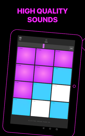 Android Electro Drum Pads 24 - Music & Beat Maker Screen 8