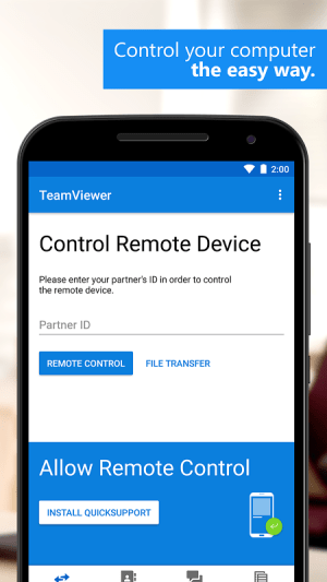TeamViewer for Remote Control 13.0.7872 Screen 7