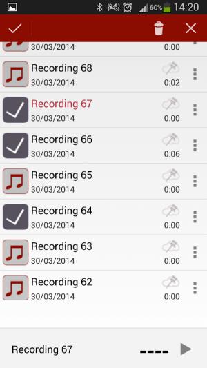 Voice Recorder 3.08 Screen 3