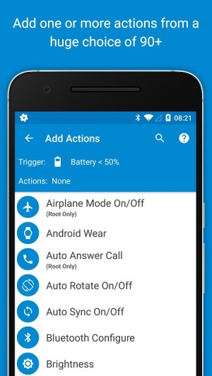 MacroDroid - Device Automation 4.9.6.1 Screen 2
