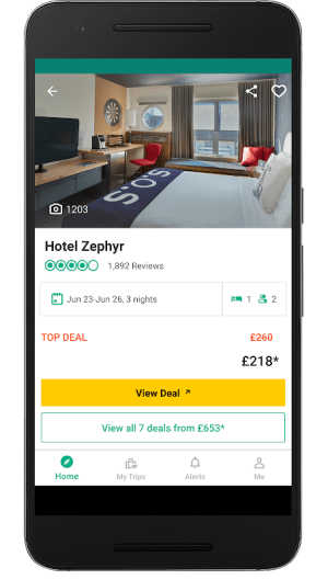 TripAdvisor Hotels Restaurants 28.0.1 Screen 1