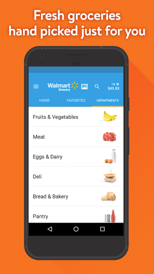 Walmart Grocery 4.6.0 Screen 2