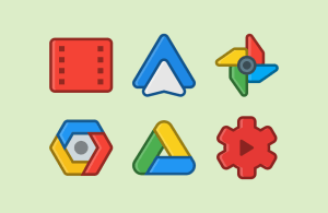 ANDROMEDA - Icon Pack 3.6 Screen 4