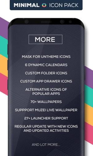 Minimal O - Icon Pack 3.1 Screen 5