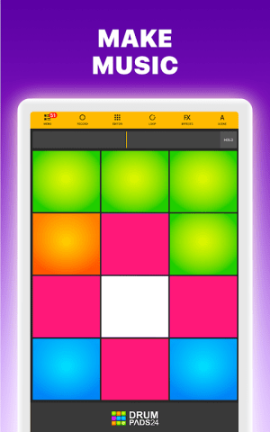 Android Drum Pads 24 - Music Maker Screen 11