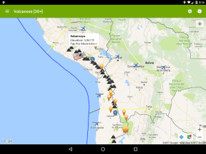 Volcanoes: Map, Alerts, Ash Clouds & News 1.5.1 Screen 8