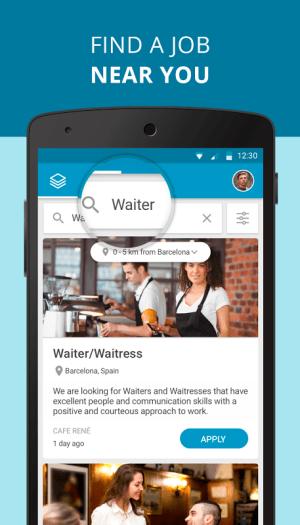 CornerJob - Job offers, Recruitment, Job Search 1.5 Screen 1