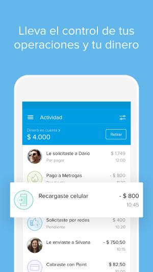 Mercado Pago: recargar saldo y pagar cuentas 2.45.28 Screen 4