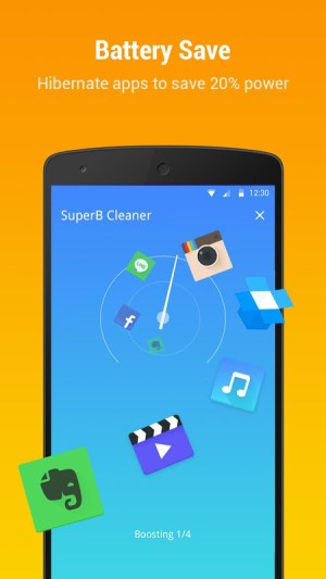 SuperB Cleaner - Boost, Clean & APP LOCK 2.2.1 Screen 2